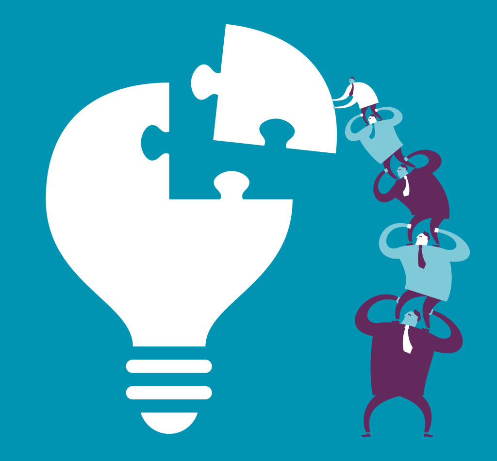 illustration_1_light bulb team work_1